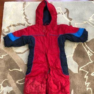 LL Bean boys snowsuit size 12 to 18 months